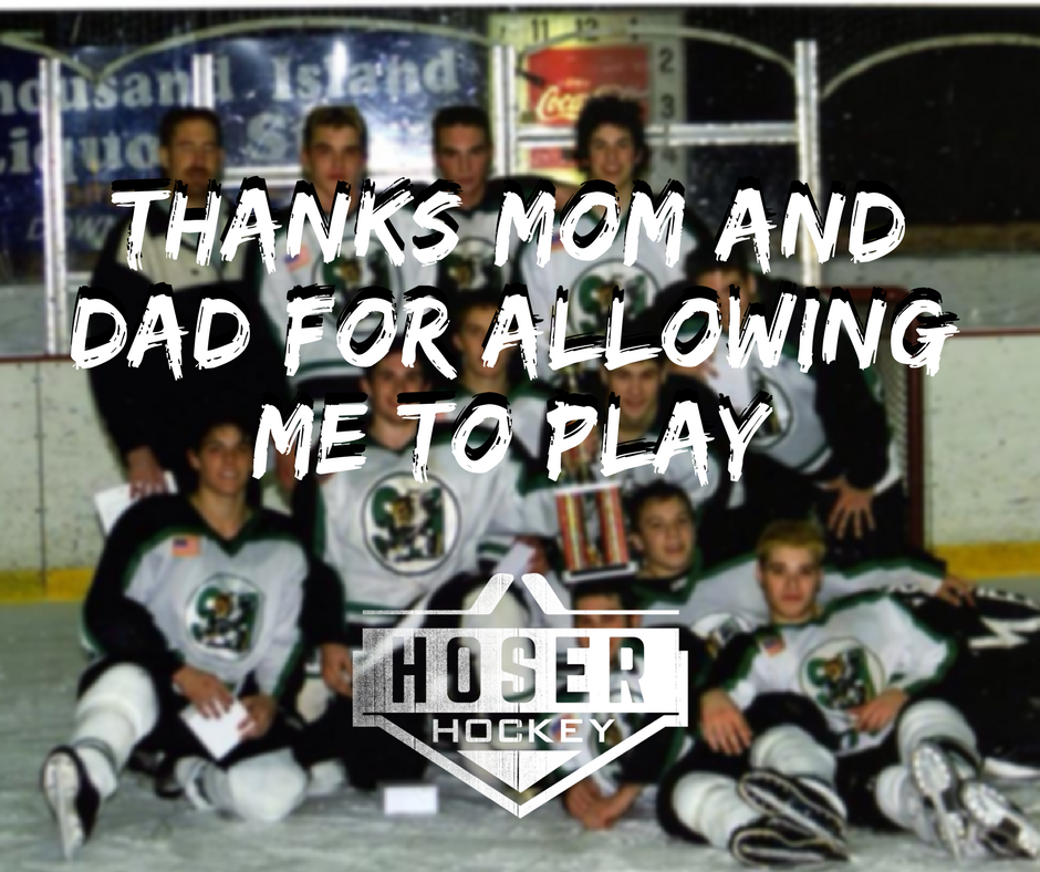 Thanks Mom and Dad For Allowing Me To Play