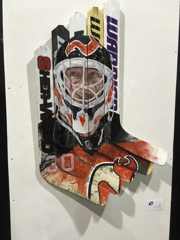 Marty Brodeur Artwork | Hoser Hockey Co.