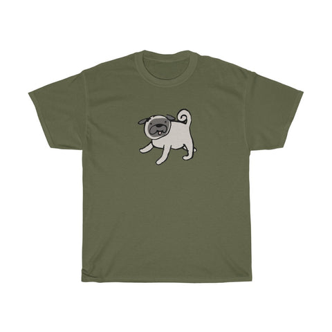 Men's T-Shirt with Pug Design