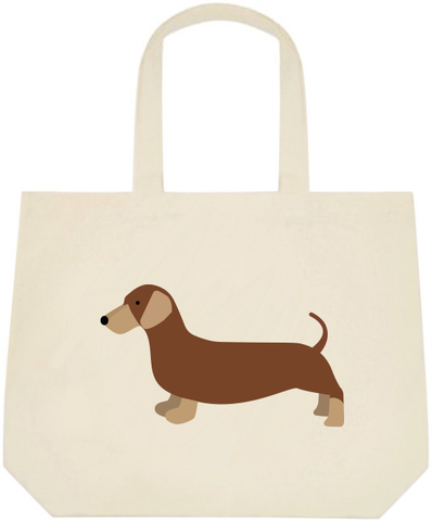 Dachshund Large Tote Bag