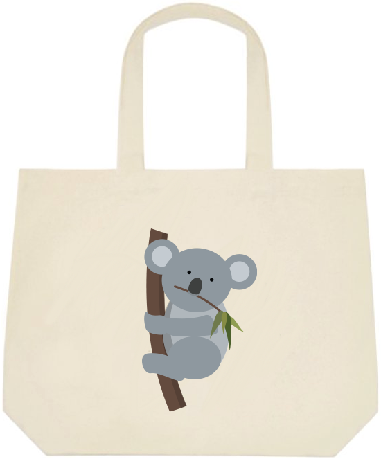 Koala Large Tote Bag