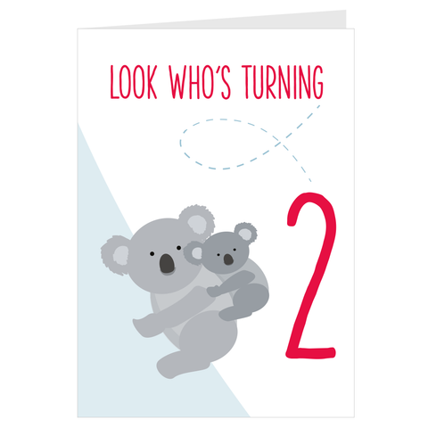 Koala Look Who's Turning 2