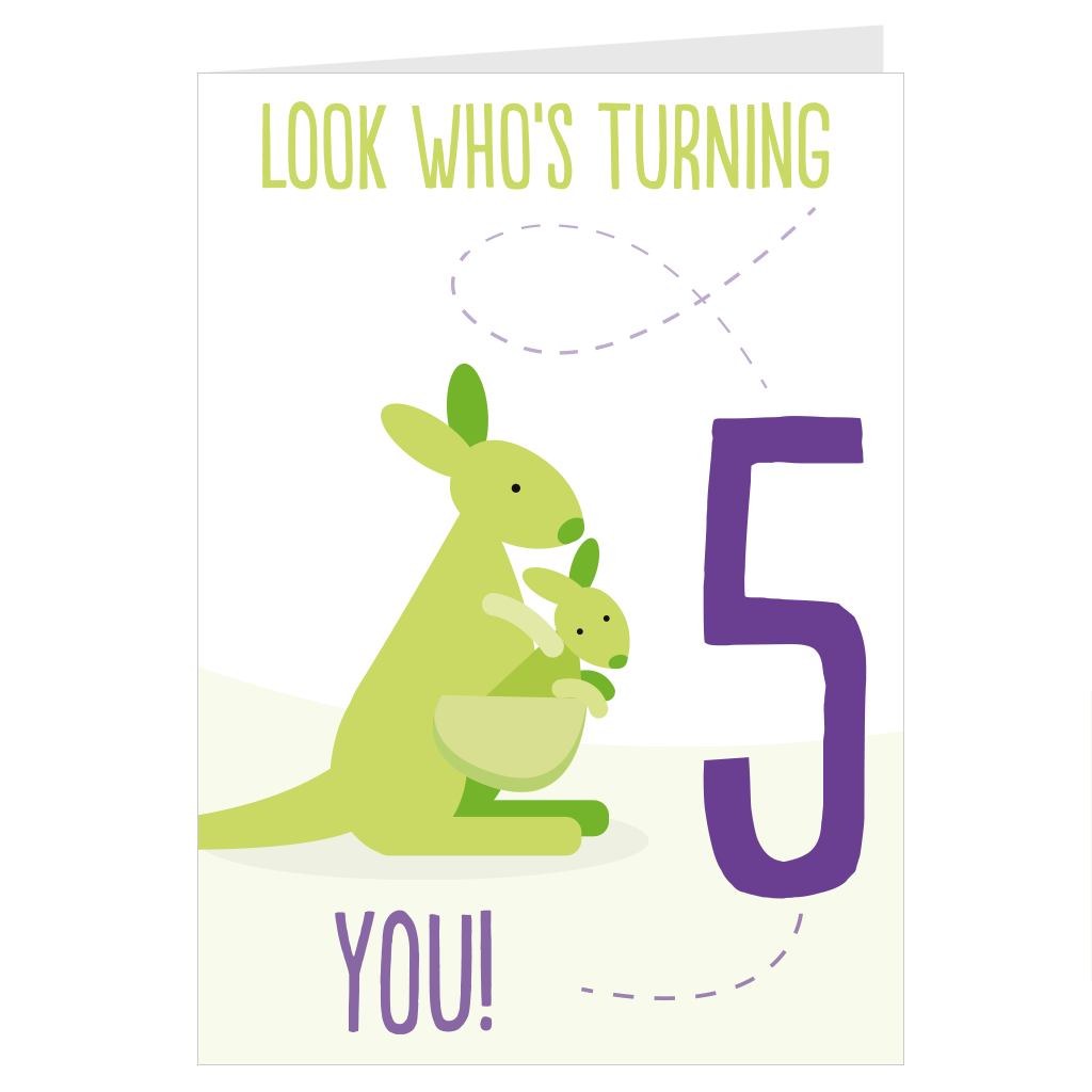 Kangaroo Look Who's Turning 5