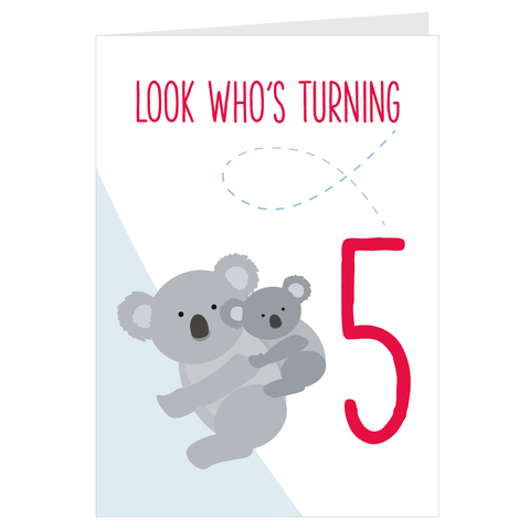 Koala Look Who's Turning 5