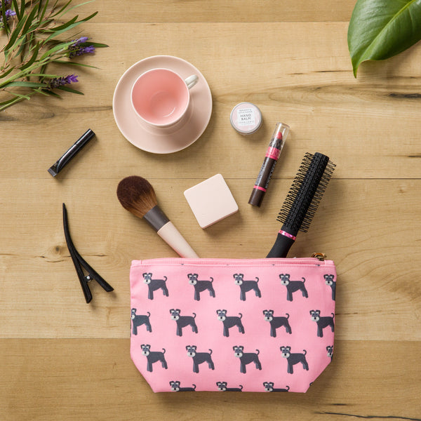 Schnauzer Make Up Bag