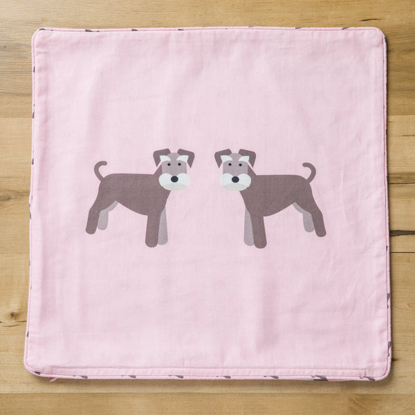 Schnauzer Cushion Cover