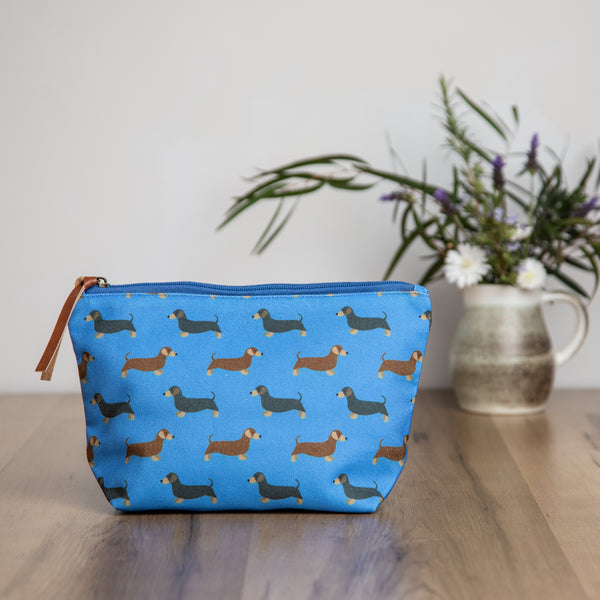 Dachshund Make Up Bag