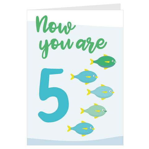 Fishes Now You Are 5