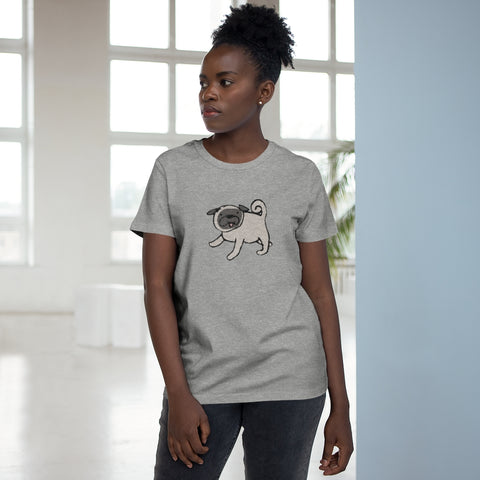 Women's T-Shirt with Pug design