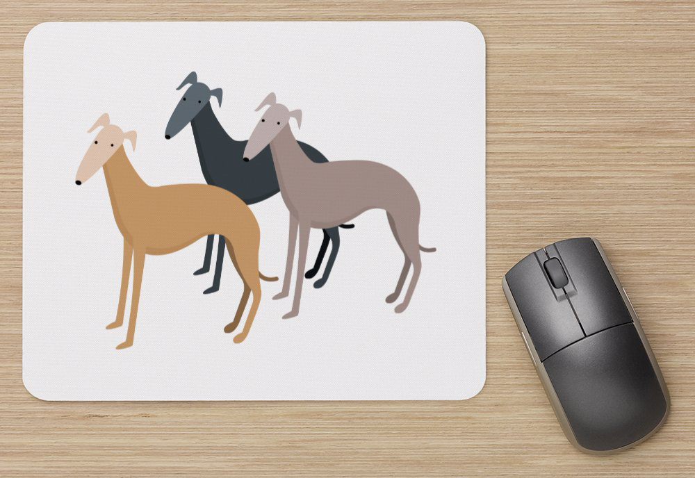 Greyhounds Mousepad