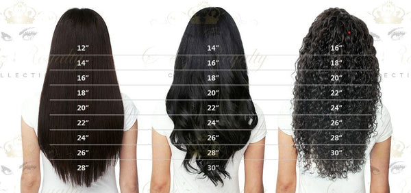 Please Refer To The Chart Below When Selecting Lengths For Micro Ring Extensions Fusion Tape In Amd Clip