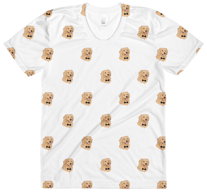 All-Over T Shirts For Women | Novelty Gift Apparel | The Jazzy Panda