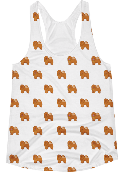 All-Over Tank Tops For Women | Novelty Gift Apparel | The Jazzy Panda