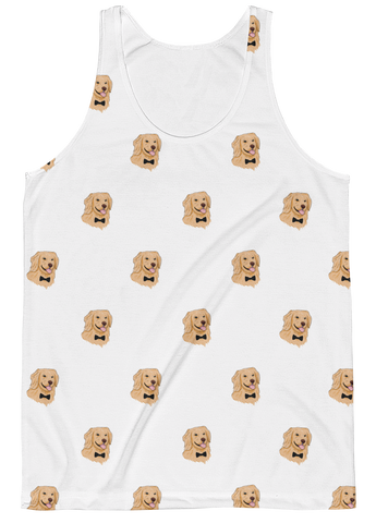 All-Over Tank Tops For Men | Novelty Gift Apparel | The Jazzy Panda