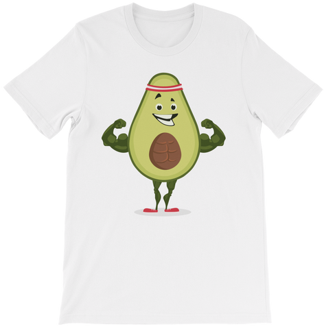 Avocado Apparel | Funny Vegan Gym Gift Merchandise | The Jazzy Panda