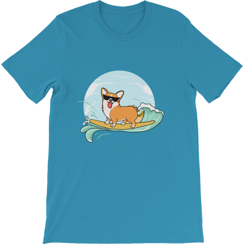 Corgi T Shirt For Men | Funny Pembroke Welsh Dog Tee | The Jazzy Panda