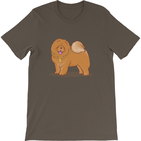 Chow Chow T Shirt For Men | Funny Dog Lover Tee | The Jazzy Panda