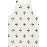 Avocado All-Over Tank For Men | Funny Vegan Gym Gift Top | The Jazzy Panda