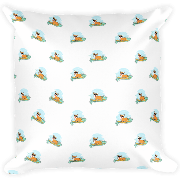 Corgi All-Over Pillow | Funny Pembroke Welsh Dog Cushion | The Jazzy Panda