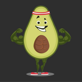 Avocado T Shirt For Girls | Funny Vegan Gym Gift Tee | The Jazzy Panda