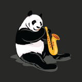 Panda T Shirt For Men | Funny Bear Lover Gift Tee | The Jazzy Panda