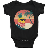 Pineapple Baby Boy Onesie | Tropical Hawaiian Romper | The Jazzy Panda