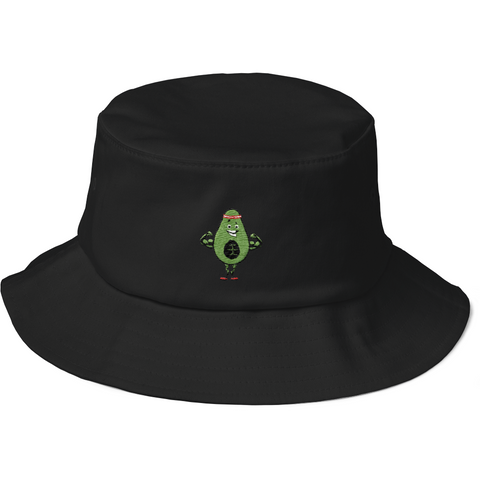 Avocado Bucket Hat For Women | Funny Vegan Gym Gift Cap | The Jazzy Panda