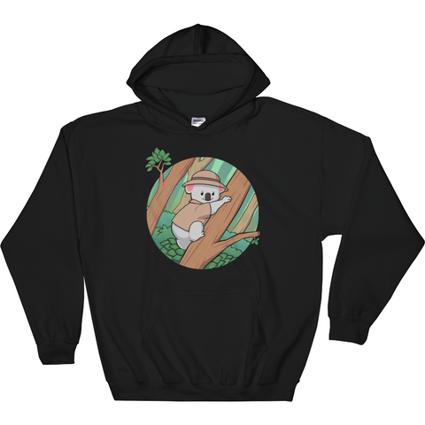 Koala Bear Hoodie For Men | Funny Animal Sweatshirt | The Jazzy Panda