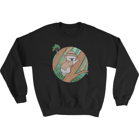 Koala Bear Crewneck For Women | Funny Animal Sweatshirt | The Jazzy Panda