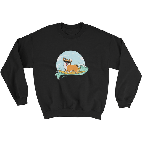 Corgi Crewneck For Men | Funny Pembroke Welsh Dog Sweatshirt | The Jazzy Panda