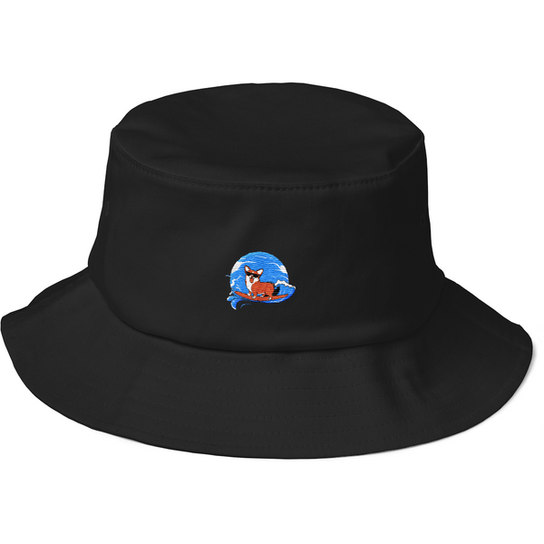 Corgi Bucket Hat For Men | Funny Pembroke Welsh Dog Cap | The Jazzy Panda