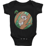 Koala Bear Baby Boy Onesie | Funny Animal Romper | The Jazzy Panda