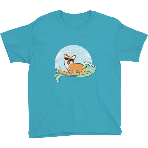 Corgi T Shirt For Boys | Funny Pembroke Welsh Dog Tee | The Jazzy Panda
