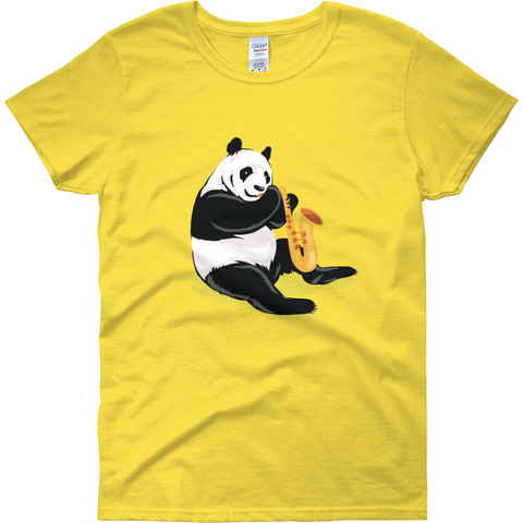 Panda T Shirt For Women | Funny Bear Lover Gift Tee | The Jazzy Panda