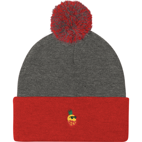 Pineapple Beanie Hat For Men | Tropical Hawaiian Cap | The Jazzy Panda