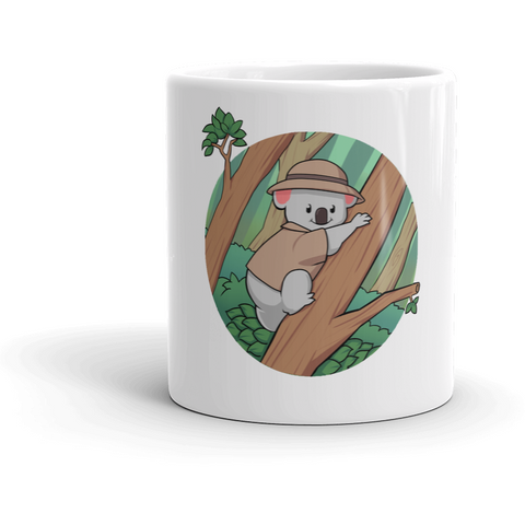 Koala Bear Mug | Funny Animal Cup | The Jazzy Panda