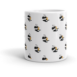 Panda All-Over Mug | Funny Bear Lover Gift Cup | The Jazzy Panda