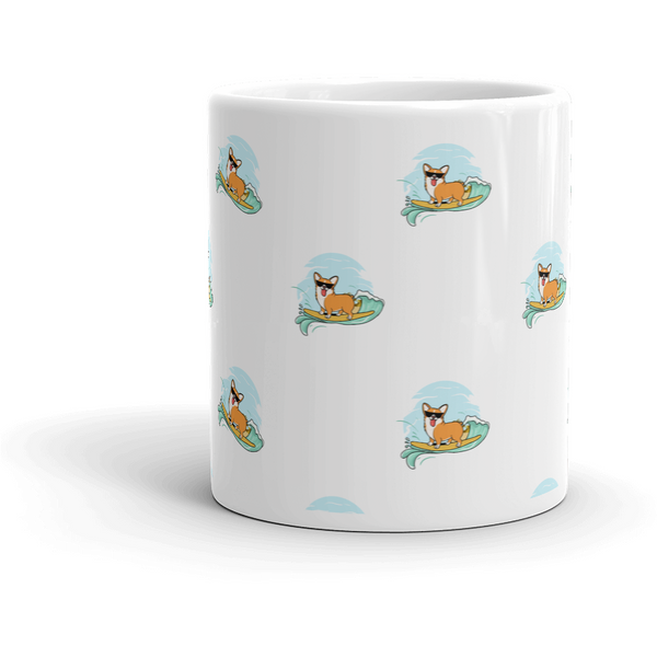 Corgi All-Over Mug | Funny Pembroke Welsh Dog Cup | The Jazzy Panda