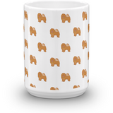 Chow Chow All-Over Mug | Funny Dog Lover Cup | The Jazzy Panda