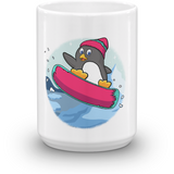 Penguin Mug | Funny Zoo Animal Cup | The Jazzy Panda