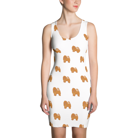 Chow Chow Dress For Women | Funny Dog Lover Outfit | The Jazzy Panda