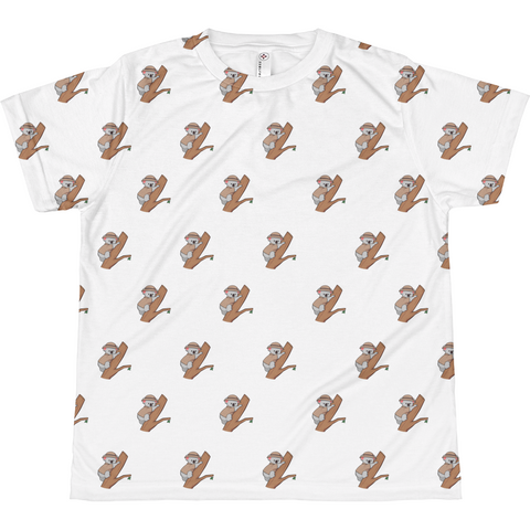 Koala Bear All-Over T Shirt For Girls | Funny Animal Tee | The Jazzy Panda