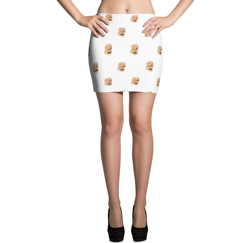 Golden Retriever Skirt For Women | Funny Dog Apparel | The Jazzy Panda