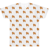 Chow Chow All-Over T Shirt For Men | Funny Dog Lover Tee | The Jazzy Panda