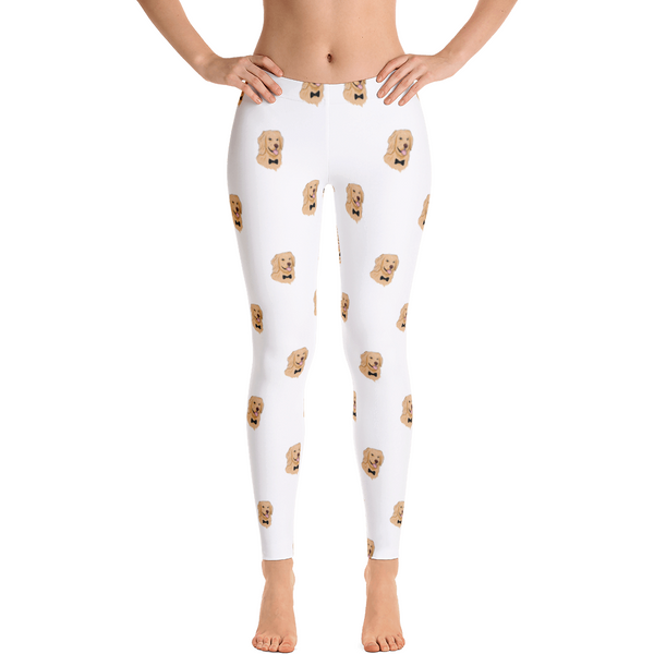 Golden Retriever Leggings For Women | Funny Dog Tights | The Jazzy Panda