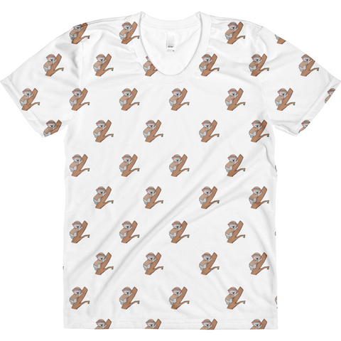 Koala Bear All-Over T Shirt For Women | Funny Animal Tee | The Jazzy Panda