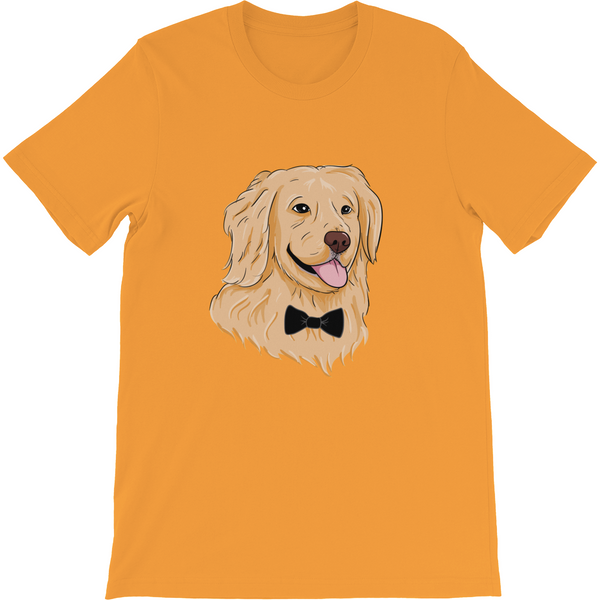 Golden Retriever T Shirt For Men | Funny Dog Tee | The Jazzy Panda