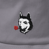Husky Bucket Hat For Men | Funny Siberian Dog Cap | The Jazzy Panda