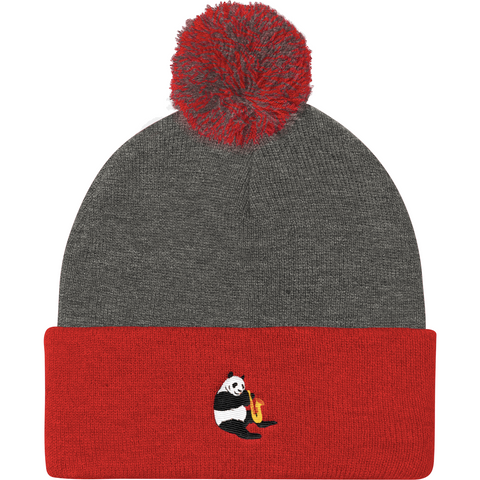 Panda Beanie Hat For Women | Funny Bear Lover Gift Cap | The Jazzy Panda