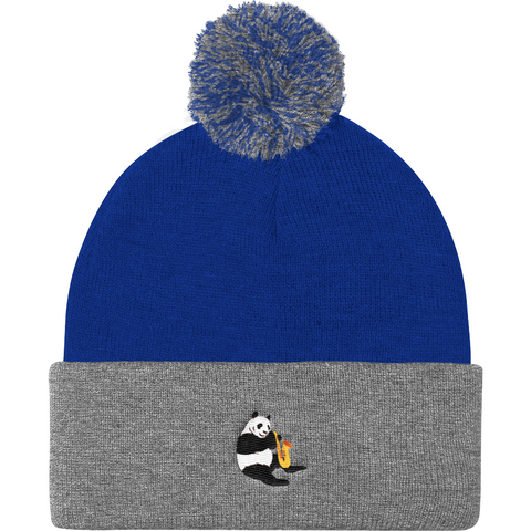 Panda Beanie Hat For Men | Funny Bear Lover Gift Cap | The Jazzy Panda